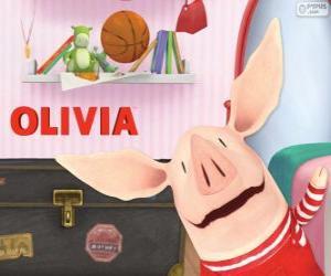 Puzle Olivia o pequeno porco