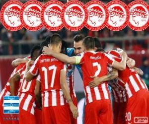 Puzle Olympiacos FC campeão 2013-2014