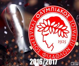 Puzle Olympiacos FC campeão 2016-2017