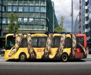 Puzle Ônibus Urbano, Copenhague