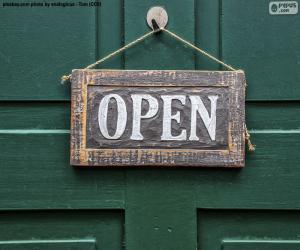 Puzle Open, aberto