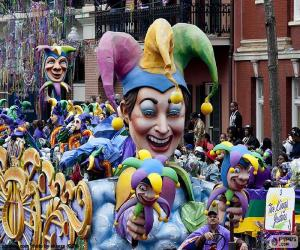 Puzle Os bobos da corte, Carnaval