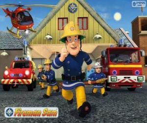 Puzle Os bombeiros de Pontypandy