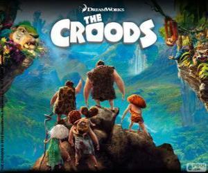 Puzle Os Croods, filme da DreamWorks
