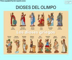 Puzle Os Deuses Gregos