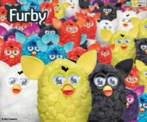 Puzle Os Furbys, um brinquedo eletrônico