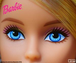 Puzle Os olhos da Barbie