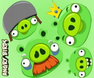 Puzle Os porcos de Angry Birds