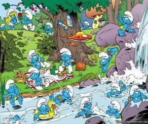 Puzle Os Smurfs no Rio