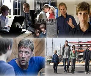 Puzle Oscar 2011 - Melhor Filme de Língua Estrangeira: Susan Bier - In a better world - (Dinamarca) 1