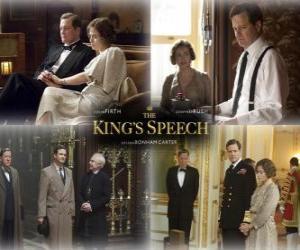 Puzle Oscar 2011 - Melhor Filme: O Discurso do Rei (2)
