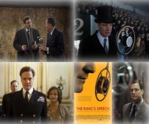 Puzle Oscar 2011 - Melhor Filme: O Discurso do Rei (1)