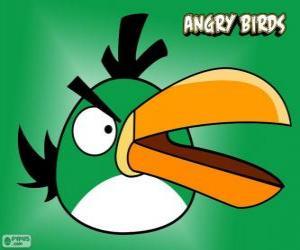 Puzle Pássaro Verde (Green Bird)