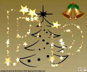 Puzle P uma letra de Natal