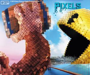 Puzle Pac-Man e Donkey Kong