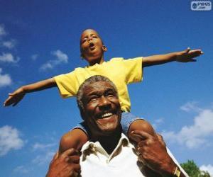 Puzle Pai e filho