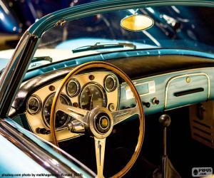 Puzle Painel de bordo de um carro clássico