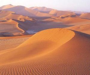 Puzle Paisagem deserto