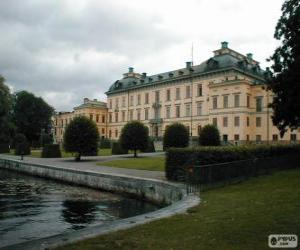 Puzle Palácio de Drottningholm, Drottningholm, Suécia