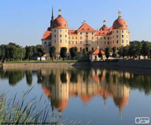 Puzle Palácio de Moritzburg, Alemanha