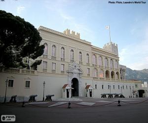 Puzle Palácio do Príncipe de Mônaco