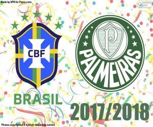 Puzle Palmeiras, campeão brasileiro de 2018