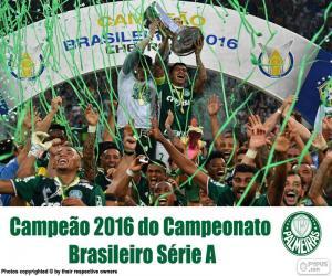 Puzle Palmeiras, campeão do Brasil 2016