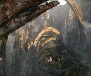 Puzle Pandora, um planeta de na'vi