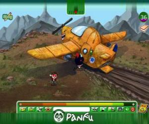 Puzle Panfu acidente de avião