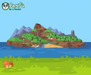 Puzle Panfu ilha
