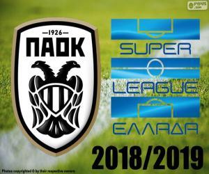 Puzle PAOK, campeão 2018-2019