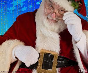 Puzle Papai Noel observada