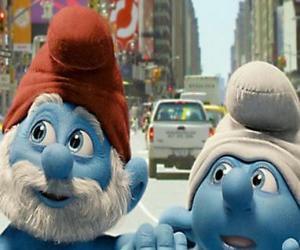 Puzle Papai Smurf e Desastrado, as ruas de Manhattan. - Os Smurfs, filme -