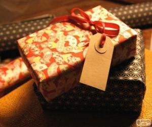 Puzle Para quem é o presente?