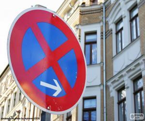 Puzle Paragem e estacionamento proibidos
