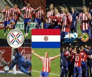 Puzle Paraguai finalista, Copa América, Argentina 2011