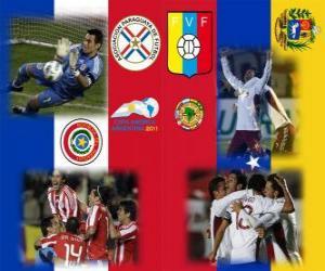 Puzle Paraguai - Venezuela, semi-finais, Copa América, Argentina 2011