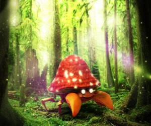 Puzle Parasect - Pokémon tipo Planta Bicho