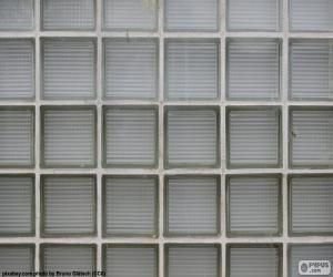 Puzle Parede de bloco de vidro