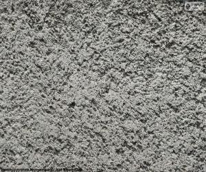 Puzle Parede de cimento áspero