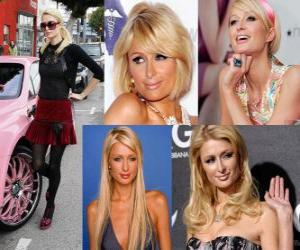 Puzle Paris Hilton é um famoso, autora, modelo, atriz, designer e cantora.