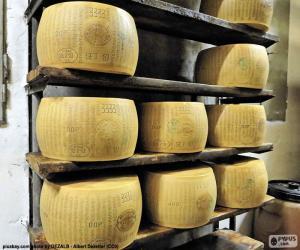 Puzle Parmesan cheese
