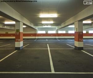 Puzle Parque de estacionamento