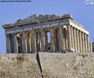Puzle Partenon, Grécia