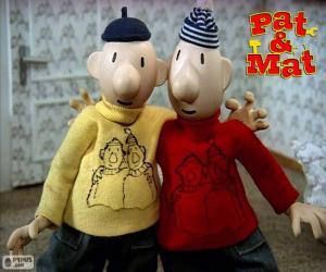 Puzle Pat e Mat, dois amigos