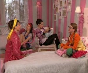 Puzle Patty popular em seu quarto