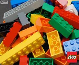 Puzle Peças de Lego