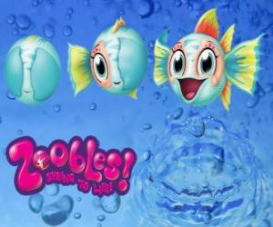 Puzle Peixe, Zoobles de Seagonia