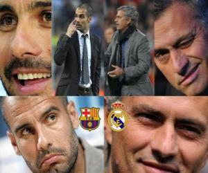 Puzle Pep Guardiola VS Jose Mourinho, 2010-11