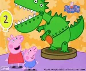 Jogos De Quebra Cabeca Da Peppa Pig A Porquinha Peppa Para Imprimir